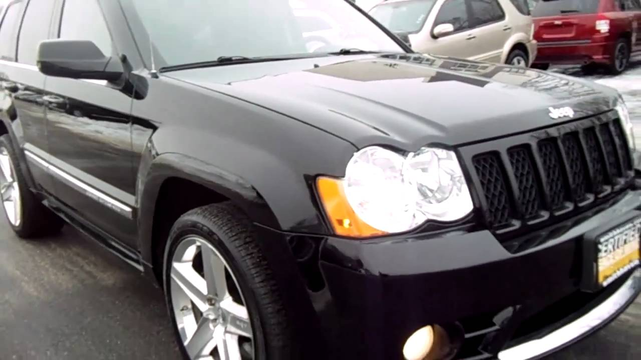2008 jeep grand cherokee srt8 for sale  2008 Jeep Grand Cherokee SRT8 For Sale - YouTube
