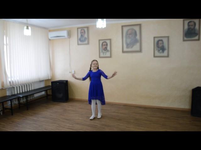 Изображение предпросмотра прочтения – ВикторияВернедуб читает произведение «Уходи зима седая!» А.Н.Майкова