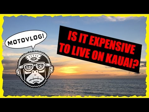 Is it Expensive to Live on Kauai? - Riding a Motorcycle in Hawaii Motovlog