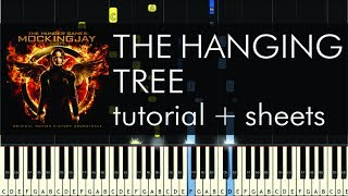 The Hanging Tree - Piano Tutorial - Jennifer Lawrence