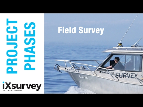 Project Phase: Field Work // IXSURVEY // Marine Survey Specialists