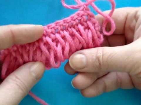 Вязание крючком - Урок 108 - Букле