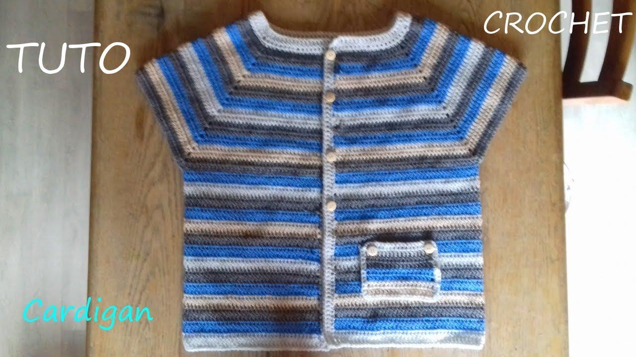 grosse pull la avec TUTO CROCHET laine un de Comment faire Oyn0Pm8vNw