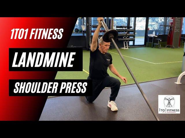 FULL BODY LANDMINE Shoulder Press Variations