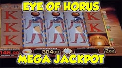 Eye of Horus MEGA JACKPOT auf 2€ - FREISPIELE Merkur Magie Spielothek HD
