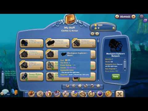 Free Realms Blackspore Treasure Chest