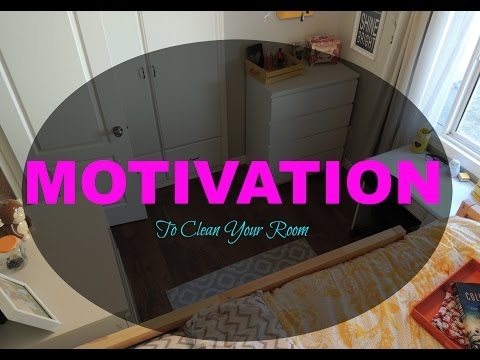how to get motivated to clean your room youtube. Black Bedroom Furniture Sets. Home Design Ideas