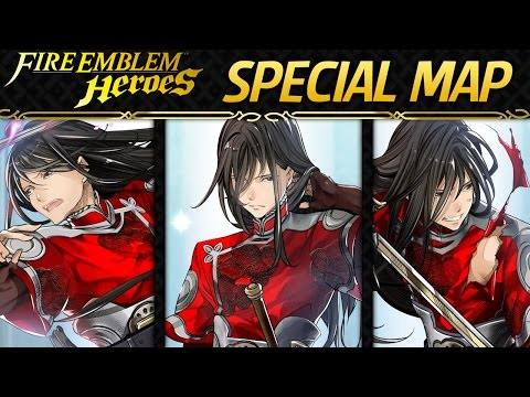 Fire Emblem Heroes: Special Map - Grand Hero Battle: Navarre [Lunatic]