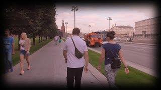 Смотреть видео #Москва 1  - влог памятник князю Владимиру в Москве на манежной улице московский vlog возле кремля онлайн