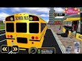 Kids Learn to Drive a School Bus with the Free Schoolbus Coach Simulator Game App