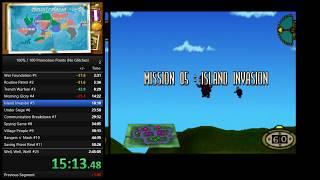 Hogs of War - Speedrun 100% 2:36:08 (WR)