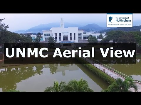 University of Nottingham Malaysia Campus Aerial View