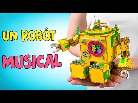 Un Robot Musical Con Canciones De Cuna Para Sam🤖