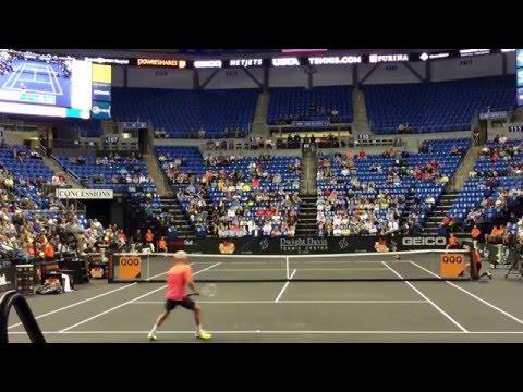 Andy Roddick def. John McEnroe 6-3