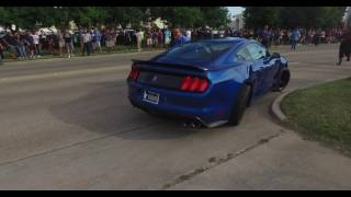 Mustang GT350 crash coffee and cars Houston 4K 10/1/16