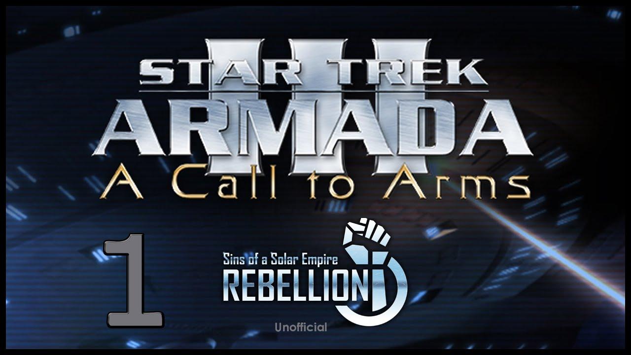 Star trek armada 3 federation ep1 a sins of a solar empire rebellion mod