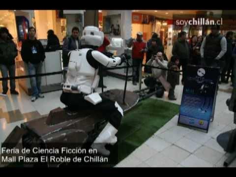 Realizan Feria de Ciencia Ficción en Mall de Chillán