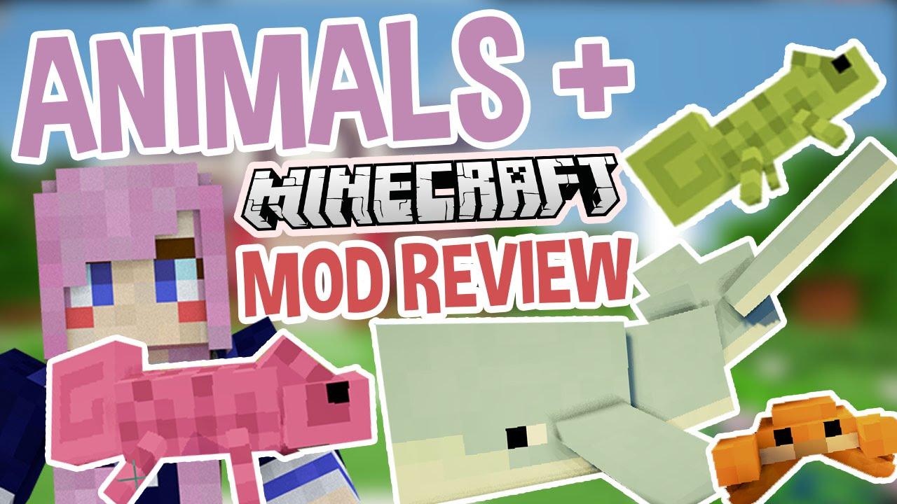Animals   Extra Mobs Minecraft Mod YouTube