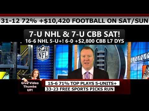 NFL PLAYOFF PICKS: 2018 NFC CHAMPIONSHIP PREDICTIONS (#1 FOOTBALL EXPERT USA! 78% PICKS L7 WKS!)