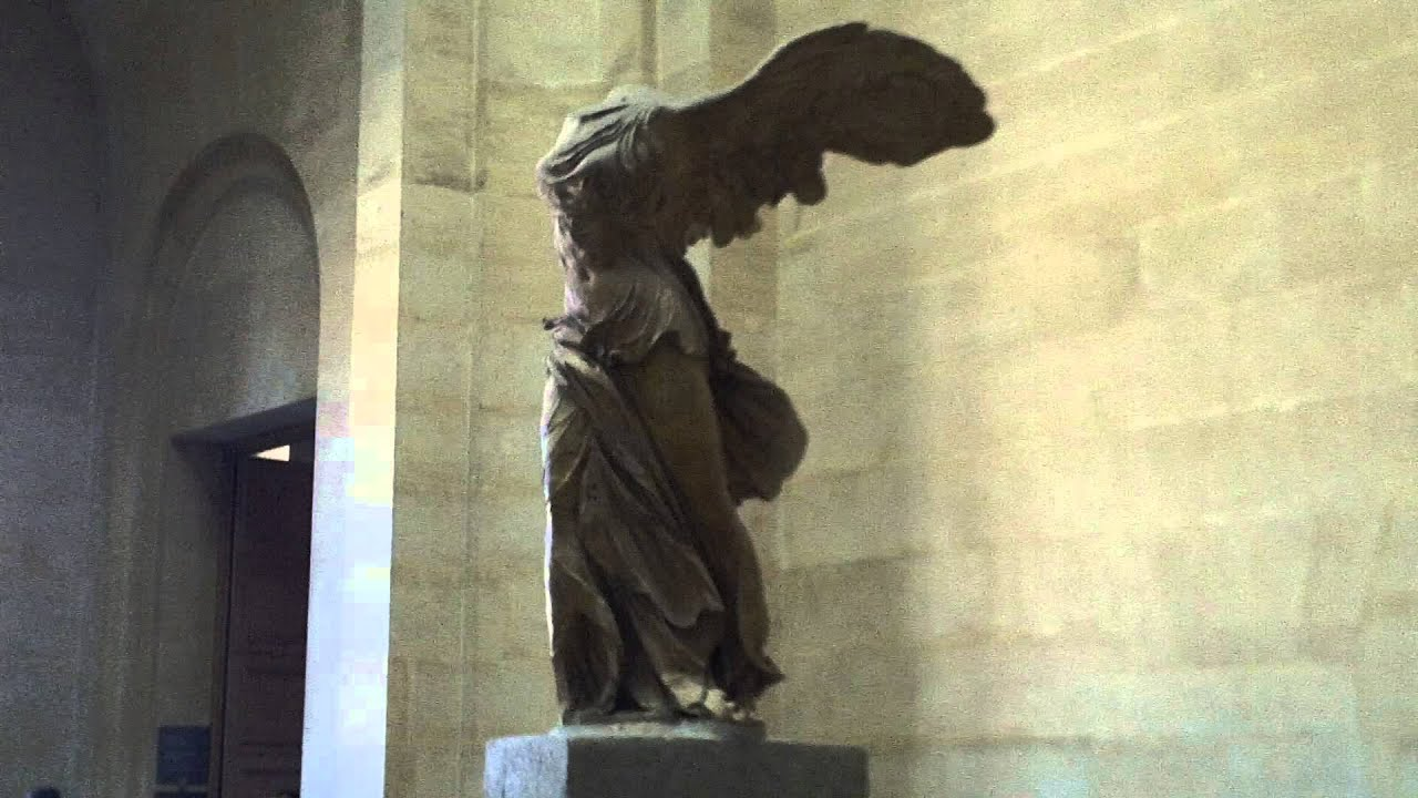 Winged Victory Of Samothrace Wallpaper