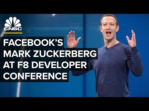 CEO Mark Zuckerberg talks about Facebook's privacy product road map—April 30, 2019