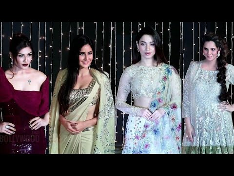 Katrina, Tammanna, Sania, Urmila And Aisha Takia At Priyanka-Nick Wedding Reception