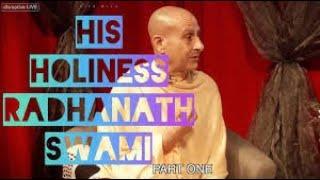 HOW TO FIND PLEASURE & SPIRITUAL CARE- Radhanath Swami - Life with Patti Boulaye -