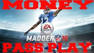 Madden 16  Greatest Unstoppable Money Play : PA End Around (Unlocked!!)
