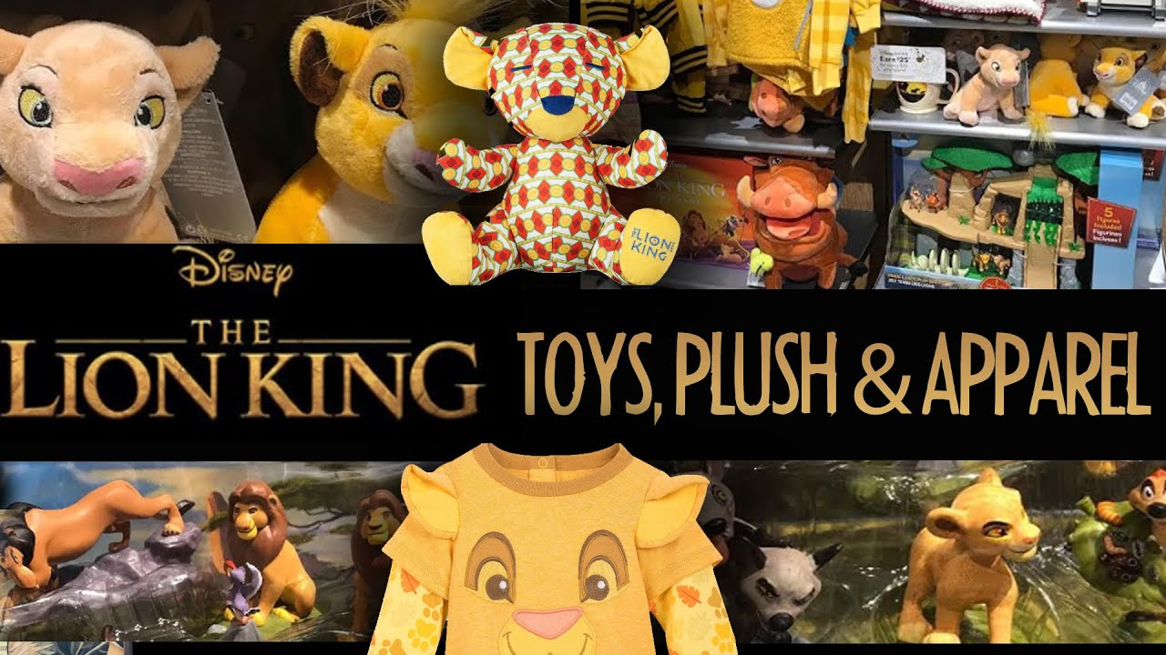 Lion King 2019 Toys Plush Apparel At Disney Store Live Action Film Toy Hunt Movie Insider Youtube