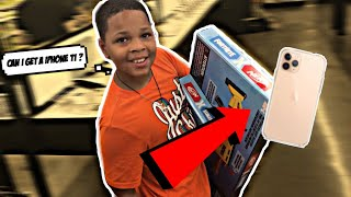 CARRY ANYTHING & ILL BUY IT !!💰 | He asked for a IPHONE 11