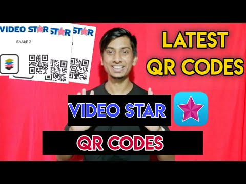 Video Star QR Codes (Transition) | Video Star 21 QR Codes |