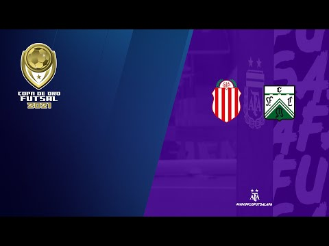 #Futsal #CopadeOro2021 Cuartos de Final: Barracas Central - Ferro Carril Oeste