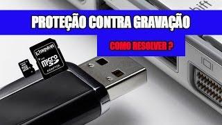 DISCO PROTEGIDO CONTRA GRAVAÇÃO - COMO RESOLVER