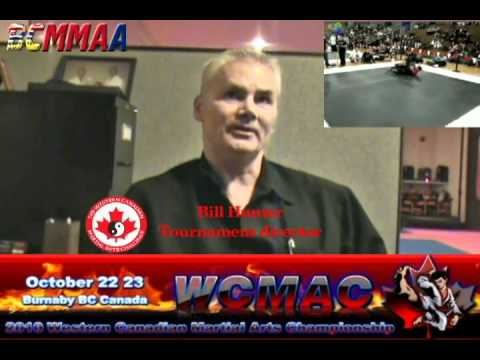 BCMMAA.COM Interview with Bill Hunter of  the Western Canadian Martial Arts Championships streaming vf
