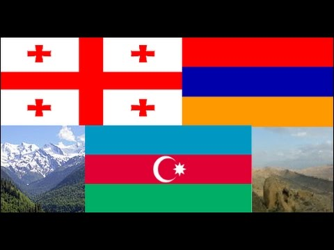 National Anthems of All Caucasian States