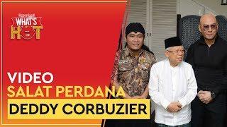 Salat Jamaah Perdana Deddy Corbuzier Bersama KH. Ma'ruf Amin
