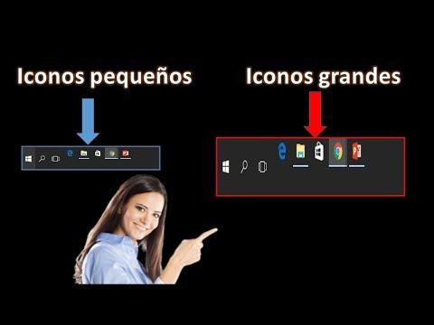 Mostrar iconos escritorio windows 10
