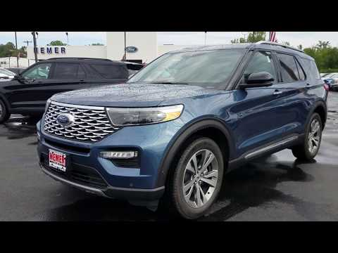 2020 Ford Explorer Platinum HD | Nemer Ford Queensbury | St#2703N