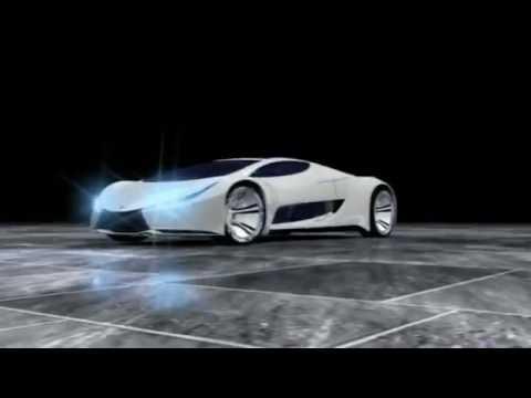 arco 3d concept car
