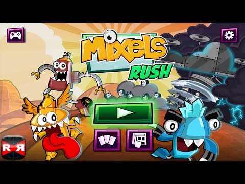 Mixels Rush (By Cartoon Network) - iOS / Android - Gameplay Video Part 1