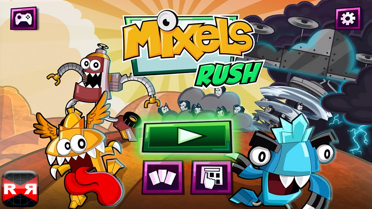 Mixels Rush By Cartoon Network Ios Android Gameplay Video