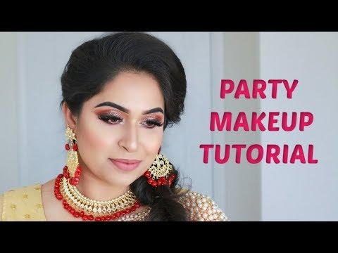PARTY MAKEUP WEDDING GUEST MAKEUP SHAHNAZ SHIMUL 2019 thumbnail
