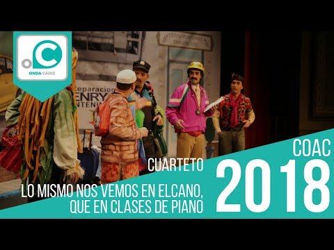 Cuarteto, Lo mismo nos vemos en Elcano, que en clases de piano - Preliminares