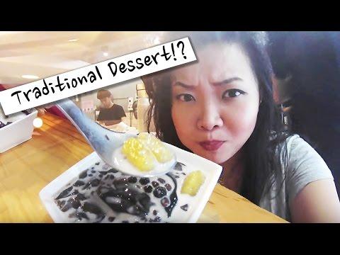 TRAVEL TAIWAN VLOG   Street Food Dessert