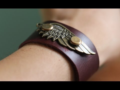 How To Make A Very Cool Leather Bracelet