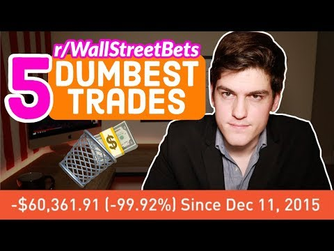 Dumbest Trades of r/WallStreetBets🗑💸