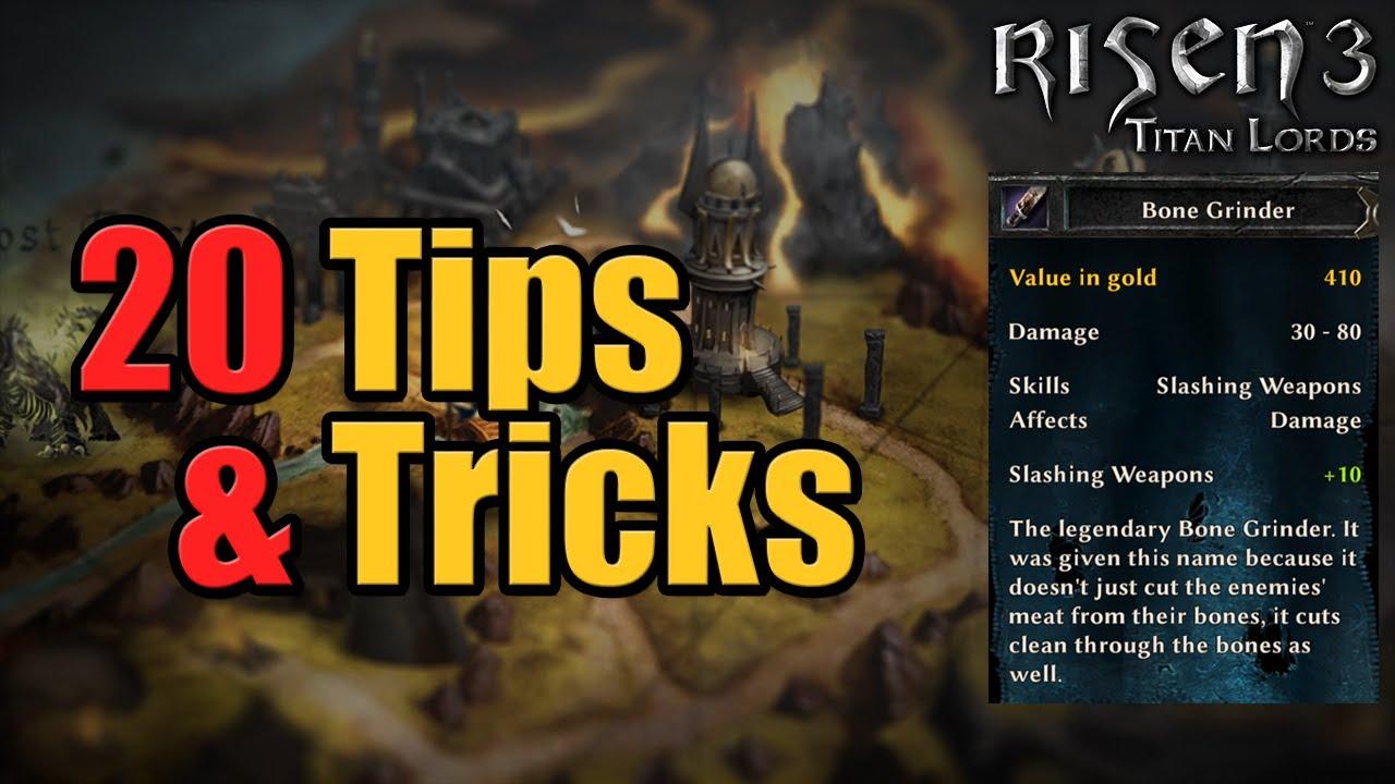 Risen 3 : Tips & Tricks