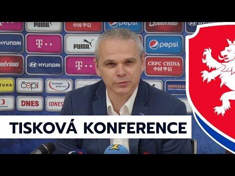 Tisková konference Vítězslava Lavičky