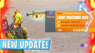 New Fortnite LMG Update! New Epic LMG U...