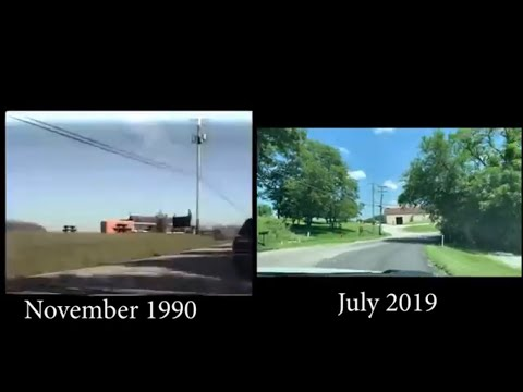 Irwin PA To Greensburgh On US Route 30 1990 Side By Side 2019 (North Huntingdon)
